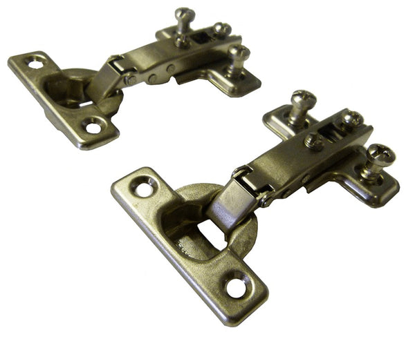 Ferrari Cabinet Mini Hinge - Full Overlay - 26mm Cup - 95° Pair