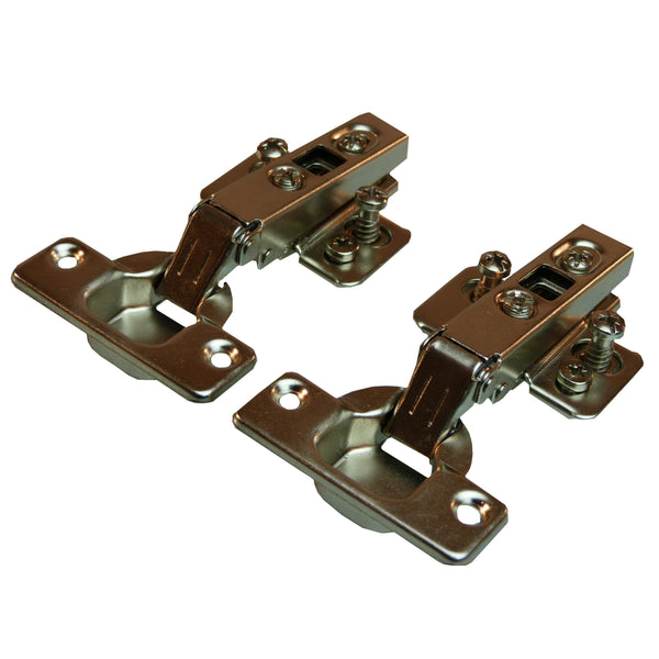 Clip On Full Overlay Un-Sprung Hinge - 110 Deg - 18mm Side