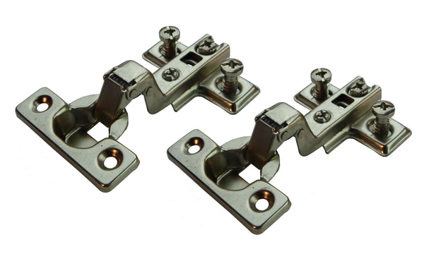 Inset Overlay Mini Door Hinge - 95 Deg