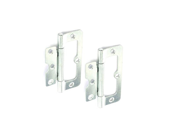 Hurl Steel Hinge H100 x W40 x T2.2mm Zinc Plated
