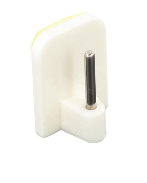 Self Adhesive Curtain Rod Hook - White - Pack of 5
