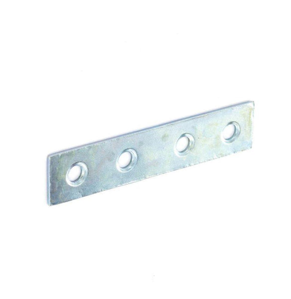 Mending Plate - 100mm - Zinc Plated - Pack of 10 - Eurofit Direct