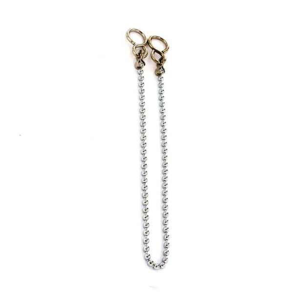 Bath Chain Ball - Length 450mm - Chrome Plated - Pack of 2 - Eurofit Direct
