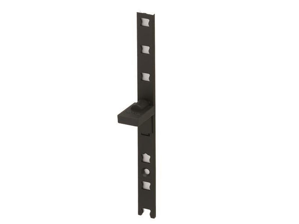 Sugatsune AP Surface Mount Alloy Ladder Strip L1820mm Black - Eurofit Direct