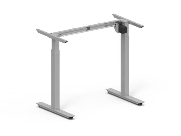Height Adjustable Desk Frame 685-1165mm Silver Electric