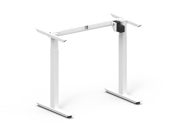 Height Adjustable Desk Frame 685-1165mm White Electric