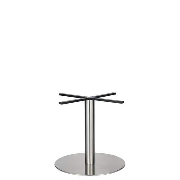 Eurofit Golden Gate S/Steel Base & Column - Diameter = 720mm - Height = 690mm