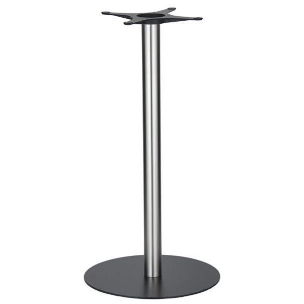 Golden Gate Black Base & Brushed S/Steel Column D580xH1100mm