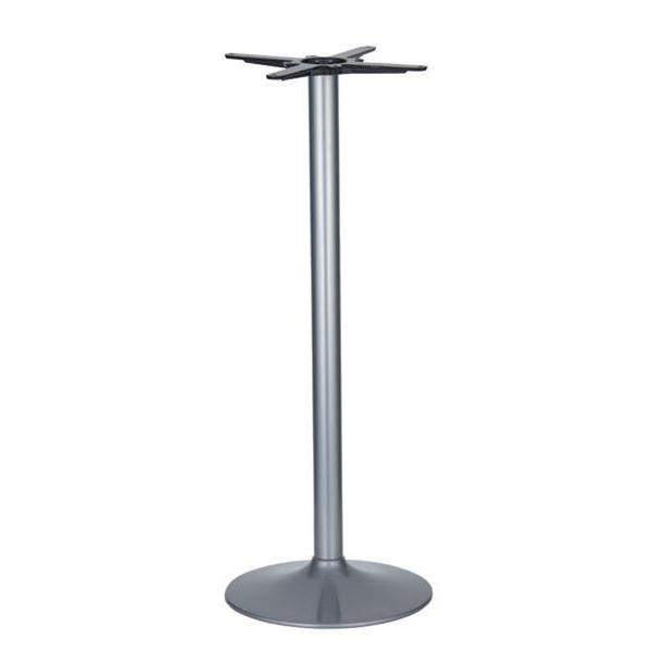 Vancouver Small Silver Base & Column - D430 x H1100mm - Eurofit Direct
