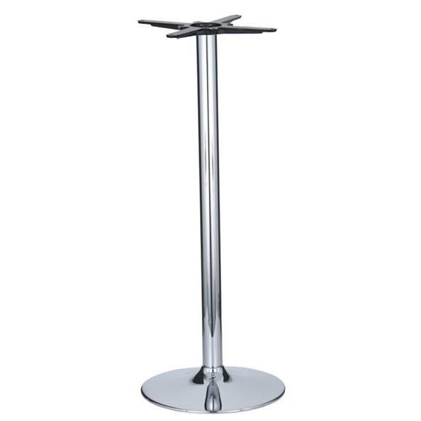 Vancouver Small Chrome Base & Column - D430 x H1100mm