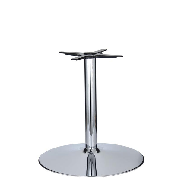 Vancouver Extra Large Chrome Base & Column - D680 x H690