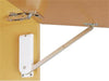 Sugatsune Cupboard Stay Set Soft Close - White Light Duty - Opens 80°