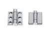 Sugatsune Surface Mount Torque Chrome Hinge 180 Deg 2.94NM
