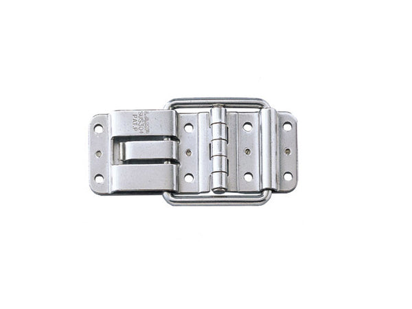Sugatsune S/Steel Detent Hinge With Hold Catch - 115 Deg