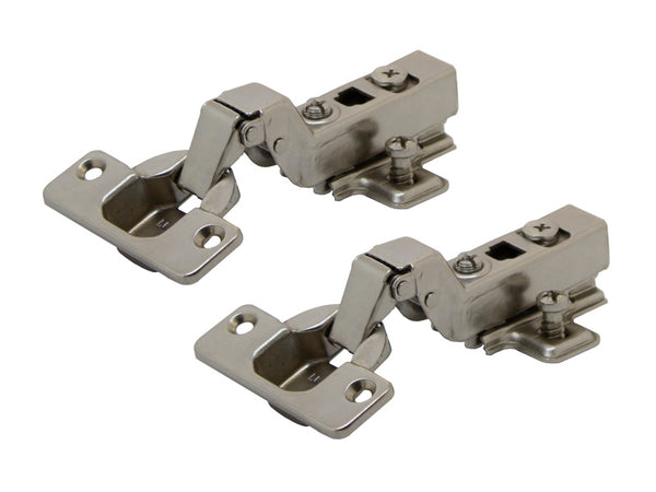 Tutti  Unsprung Cabinet Hinge Inset 105° - Clip-On -  Pair