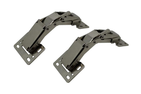 Surface Mount Easy On Hinge 150° Opening Zinc Plated