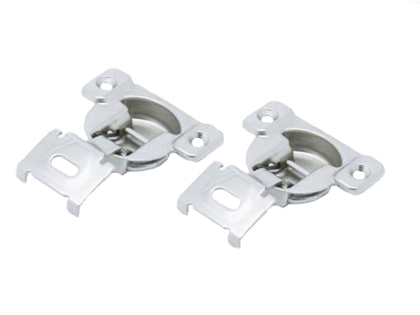Tutti Face Frame Cabinet Hinge 16mm Overlay 105° Pair - Eurofit Direct