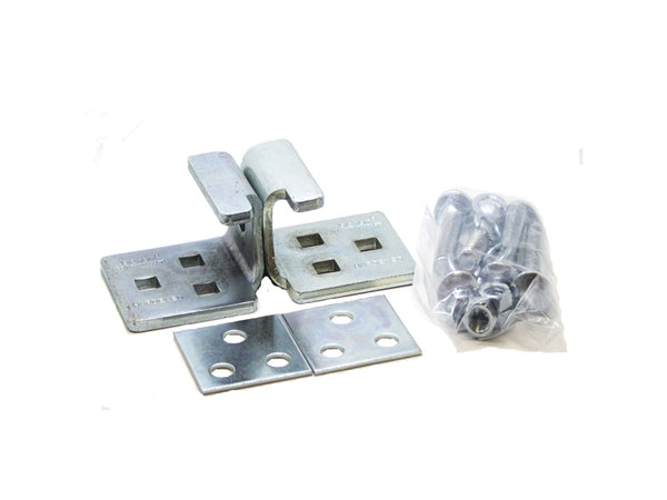 U Hasp Hardened Steel - 140mm - Zinc Plated