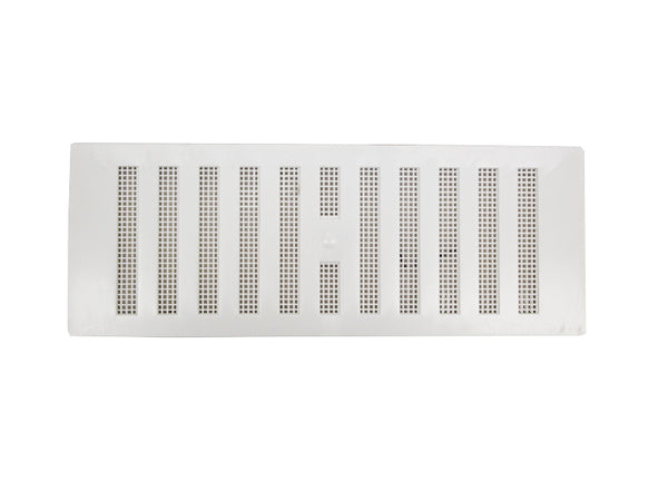 "Plastic Hit & Miss Vent - 9"" x 3"" - White"