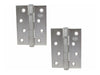 Double Ball Butt Hinge H100 x W75 x T2mm Stainless Steel (304)