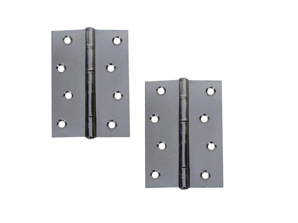 Steel Hinge H100 x W70 T1.7 Chrome Plated - Eurofit Direct