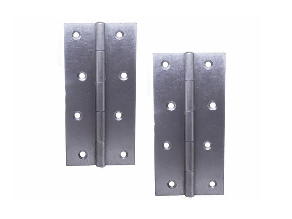 Narrow Butt Hinge (5050) H150 x W75 x T2mm Self Colour Steel