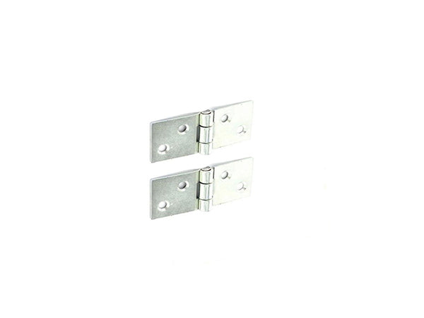 Backflap Steel Hinge H25 x W60 x T1.5mm Zinc Plated