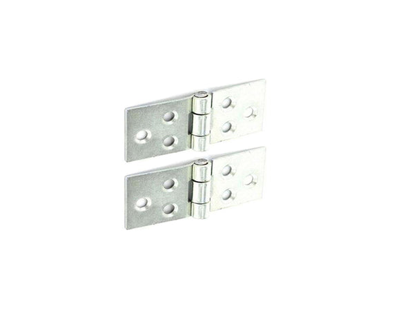 Backflap Steel Hinge H38 x W85 x T1.5mm Zinc Plated - Eurofit Direct