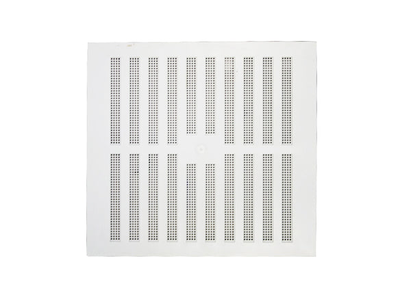 "Plastic Hit & Miss Vent - 9"" x 9"" - White"