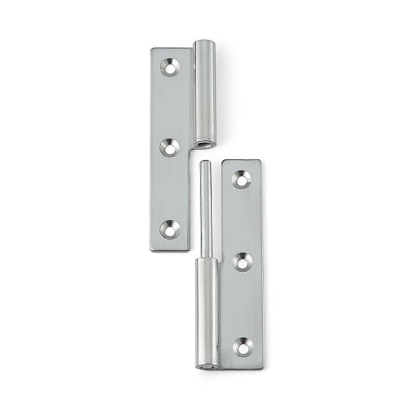 Stainless Steel Lift Off Hinge - 75 x 38mm - Left Hand - Eurofit Direct