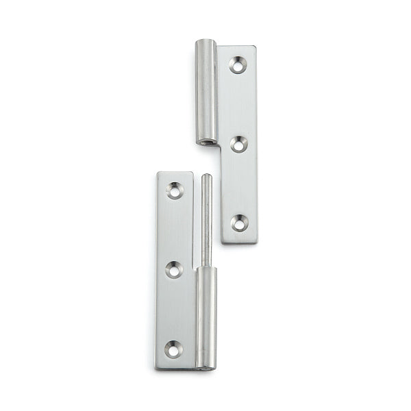 Stainless Steel Lift Off Hinge - 75 x 38mm - Right Hand | Eurofit Direct