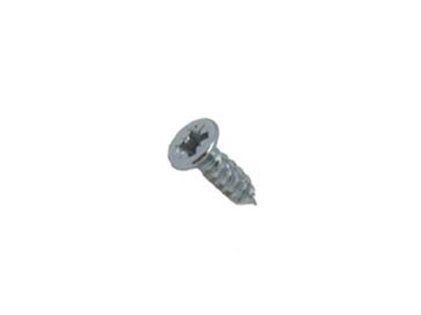"Torq-Fix Pozi Countersunk Screw 3.5 x 12mm (6 x 1/2"") Zinc - Eurofit Direct"