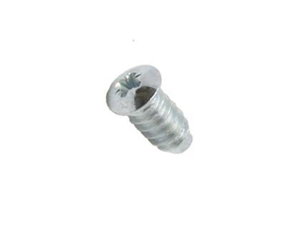 Euro Pozi Head Pan Head Screw 6.3 x 13mm Zinc