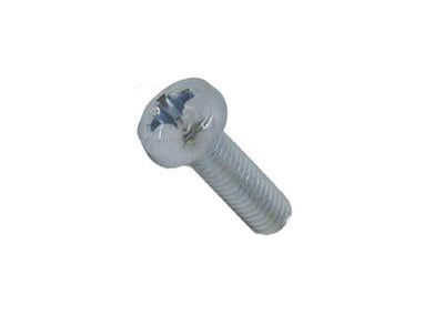 M6 x 20mm Pozi Pan Head Machine Bolt