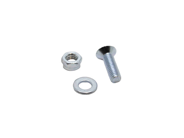 5 X 16 CSK Machine Screw M5 Nylon Bolt and Washer Zinc Plated