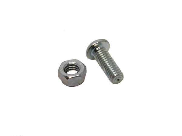 M6 x 16mm Button Head Socket Screw and M6 Nylon Insert Nut