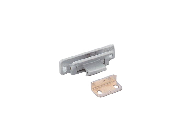 Lever Latch for Drawers & Cupboard Doors - Grey - Fire Proof