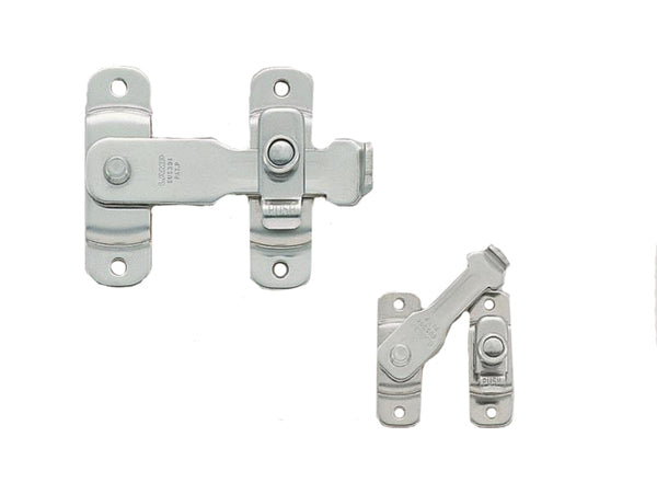 Spring Loaded Bar Latch Length 85mm Polished S/Steel