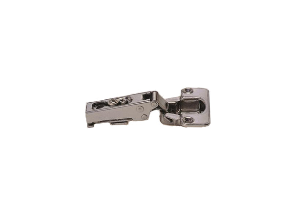 Stainless Steel Un-Sprung Clip On Hinge - 100 Degree Opening - Full Overlay - Sugatsune - Eurofit Direct