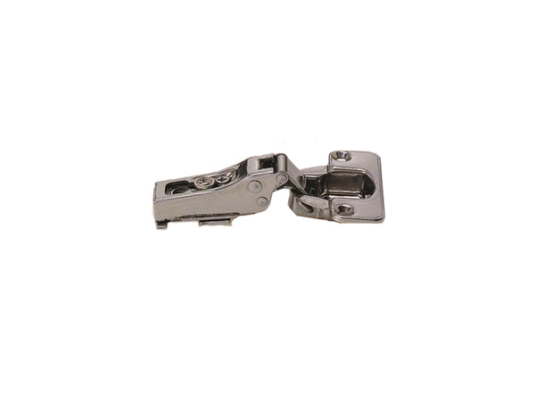 Stainless Steel Clip On Hinge - 100 Degree Opening - 3/4 Overlay - Sugatsune - Eurofit Direct