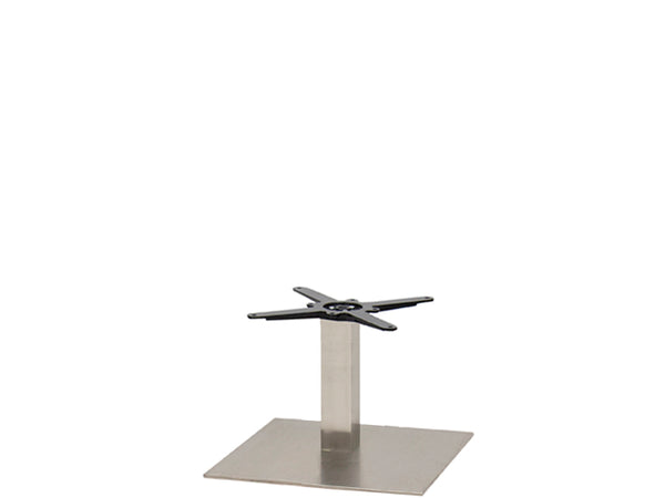 Sotra Brushed S/Steel Base & Column S580mm x H450mm