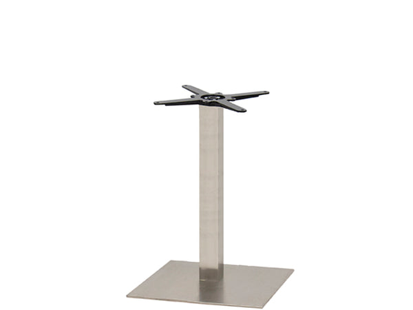 Sotra Brushed S/Steel Base & Column S580mm x H690mm