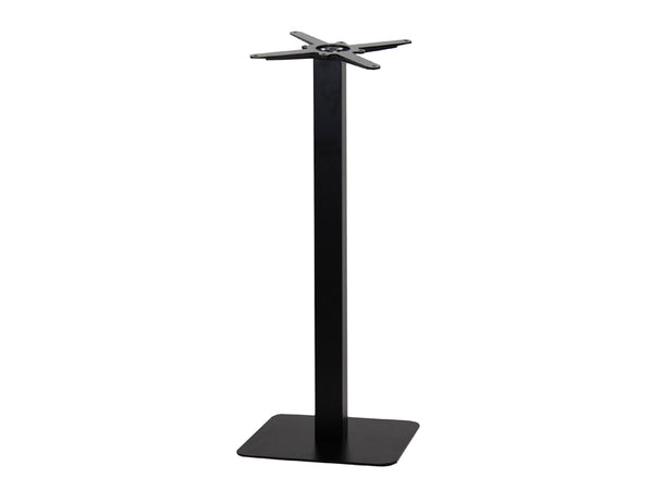 Sotra Brushed Black Base & Column S450 x H1100mm - Eurofit Direct