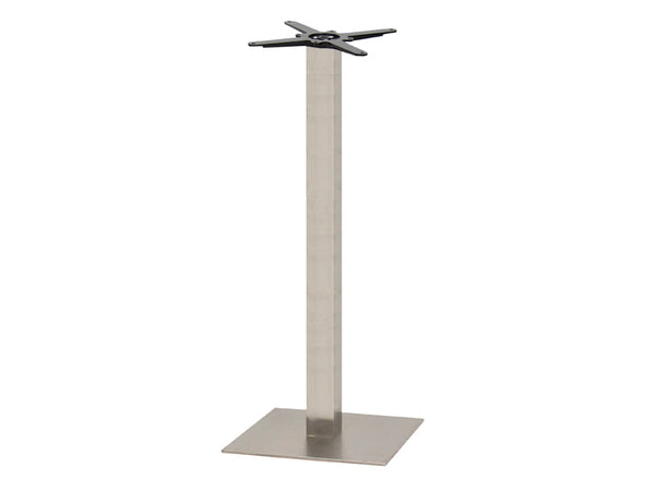 Sotra Brushed S/Steel Base & Column S450 x H1100mm