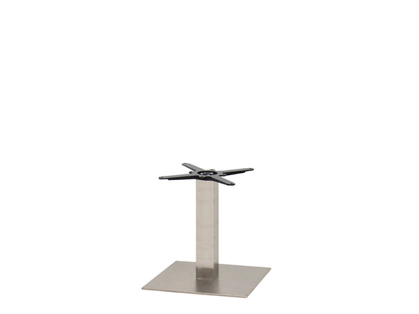 Sotra Brushed S/Steel Base & Column S450 x H450mm