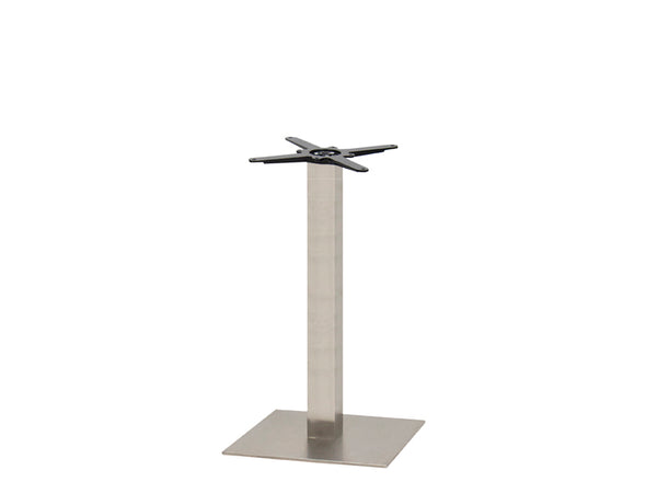 Sotra Brushed S/Steel Base & Column S450 x H690mm - Eurofit Direct