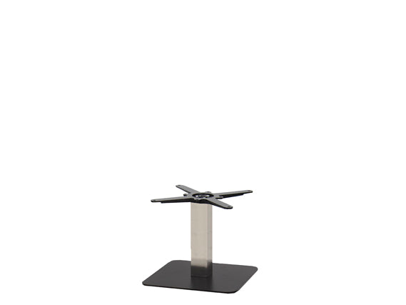 Sotra Black Base & Brushed S/Steel Column S450 x H450mm