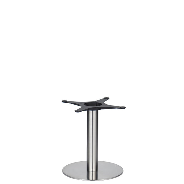 Golden Gate Brushed S/Steel Base & Column D400 x H450mm