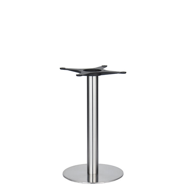 Golden Gate Brushed S/Steel Base & Column D400 x H690mm