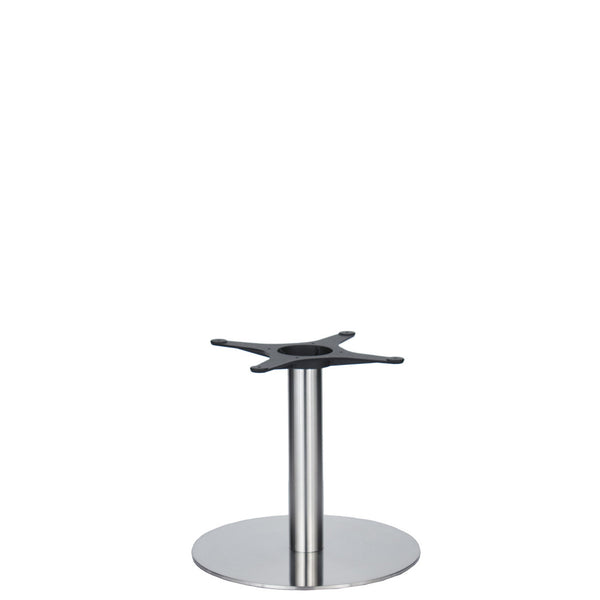 Golden Gate Brushed S/Steel Base & Column D500 x H450mm